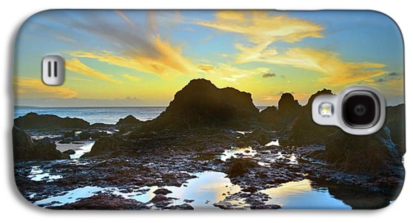 The Colours Amongst Sea, Sky And Stone Galaxy S4 Case by Tara Turner