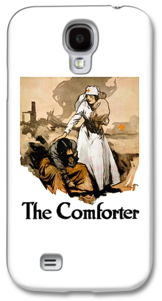 The Comforter - World War One Nurse Galaxy S4 Case by War Is Hell Store