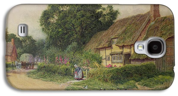 The Coming Of The Haycart  Galaxy S4 Case by Arthur Claude Strachan
