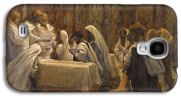 The Communion Of The Apostles Galaxy S4 Case by Tissot