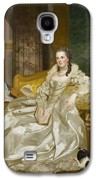 The Comtesse D'egmont Pignatelli In Spanish Costume Galaxy S4 Case by Alexander Roslin