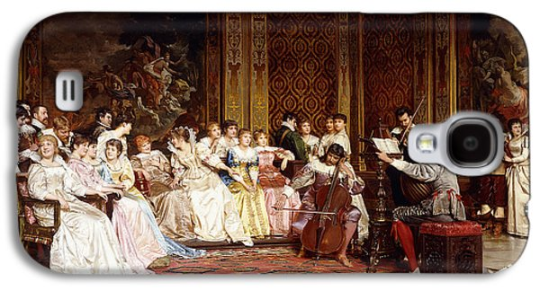 The Concert Galaxy S4 Case by Joseph Frederic Charles Soulacroix