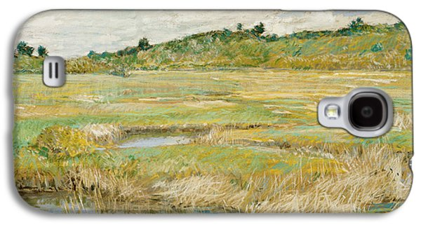 The Concord Meadow Galaxy S4 Case by Childe Hassam