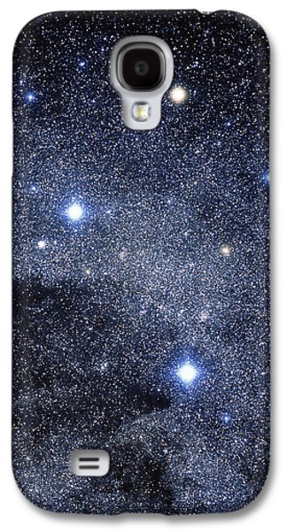 Cosmological Galaxy S4 Cases - The Constellation Of The Southern Cross Galaxy S4 Case by Luke Dodd