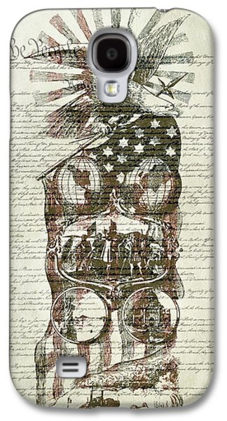 The Constitution Of The United States Of America Galaxy S4 Case by Dan Sproul