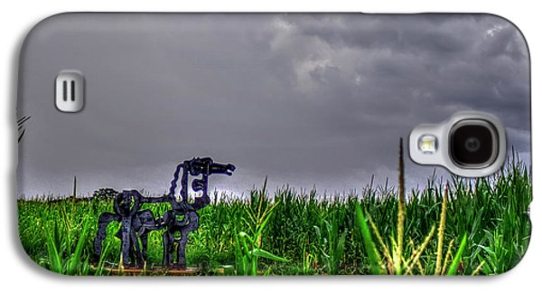 The Corn Is Up The Iron Horse Collection Art Galaxy S4 Case
