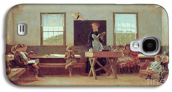The Country School Galaxy S4 Case by Winslow Homer