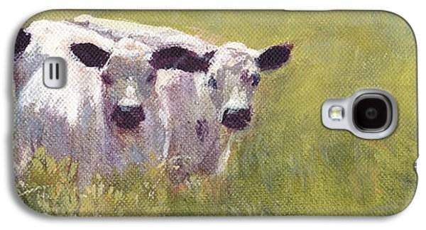 The Cow Boys Galaxy S4 Case by Tracie Thompson