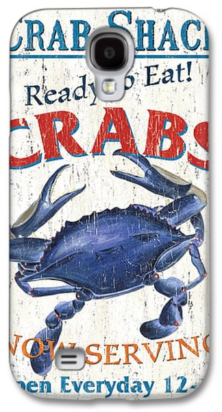 The Crab Shack Galaxy S4 Case by Debbie DeWitt
