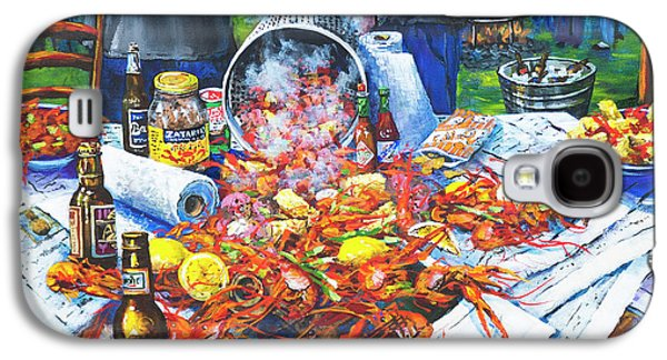 Food And Beverage Galaxy S4 Case - The Crawfish Boil by Dianne Parks