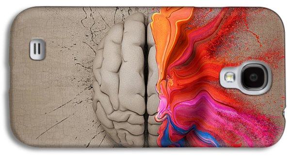 The Creative Brain Galaxy S4 Case by Johan Swanepoel