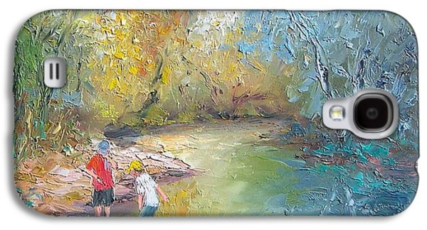 The Creek In The Forest Galaxy S4 Case by Jan Matson