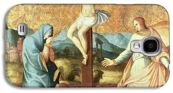 The Crucifixion With The Virgin And St John The Evangelist Galaxy S4 Case