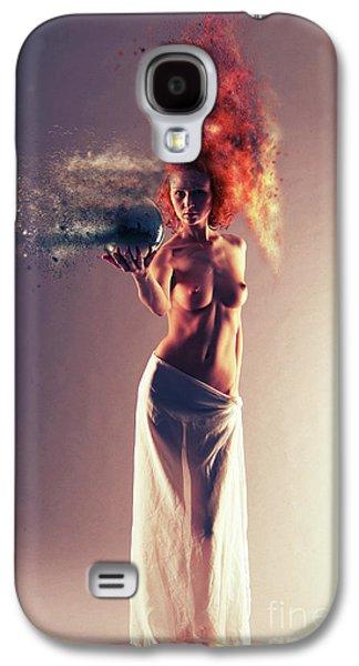 The Crystal Ball Galaxy S4 Case by Nichola Denny