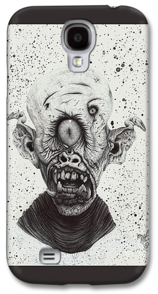 The Cyclops Galaxy S4 Case by Wave Art