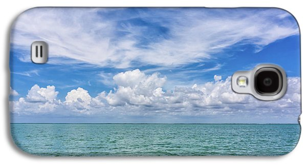 The Dance Of Clouds On The Sea Galaxy S4 Case