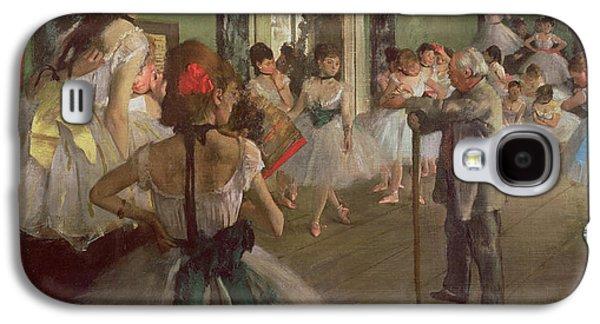 The Dancing Class Galaxy S4 Case by Edgar Degas