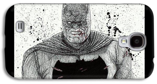The Dark Knight Galaxy S4 Case by Wave Art