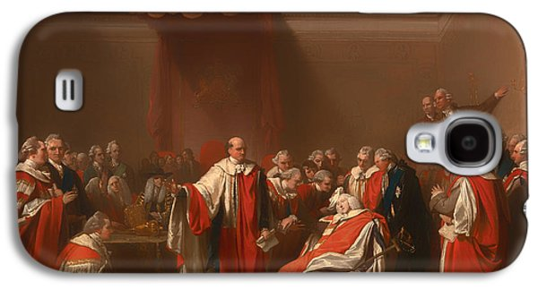 The Death Of Chatham - William Pitt 1st Earl Of Chatham Galaxy S4 Case