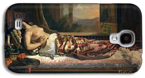 Biting Galaxy S4 Cases - The Death of Cleopatra Galaxy S4 Case by German von Bohn