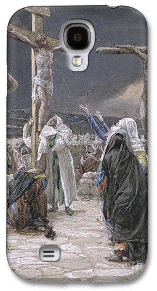 The Death Of Jesus Galaxy S4 Case by Tissot