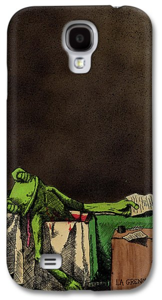 The Death Of La Grenouille Galaxy S4 Case by Bizarre Bunny