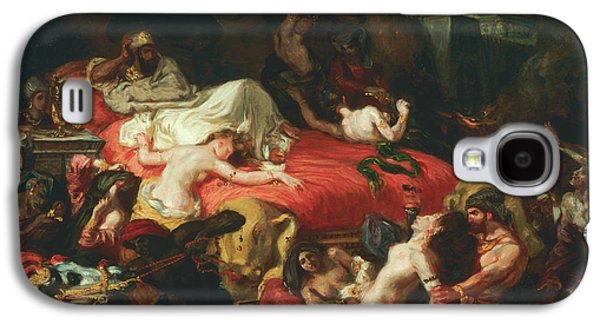 The Death Of Sardanapalus Galaxy S4 Case