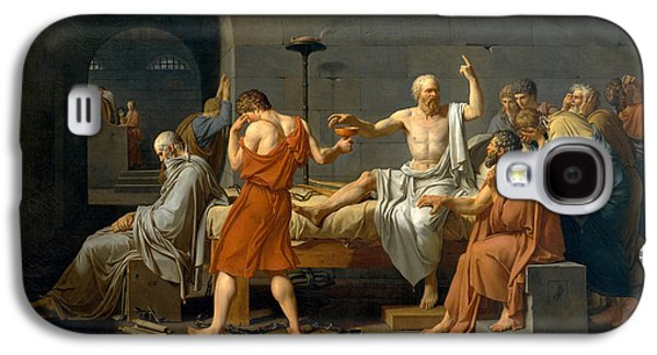 The Death Of Socrates - Jacques-louis David  Galaxy S4 Case