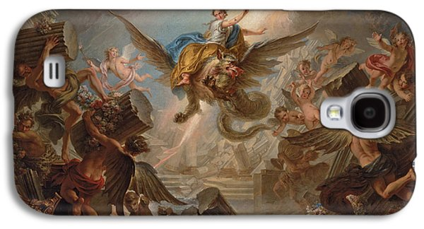 The Destruction Of The Palace Of Armida Galaxy S4 Case by Charles Antoine Coypel