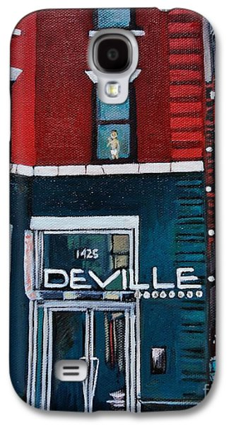 The Deville Galaxy S4 Case by Reb Frost