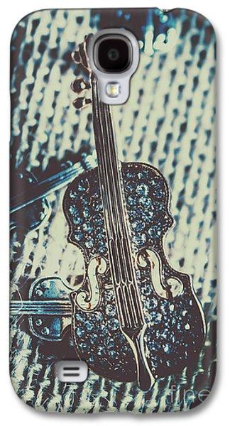 Violin Galaxy S4 Case - The Diamond Symphony by Jorgo Photography - Wall Art Gallery