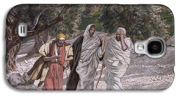 The Disciples On The Road To Emmaus Galaxy S4 Case by Tissot