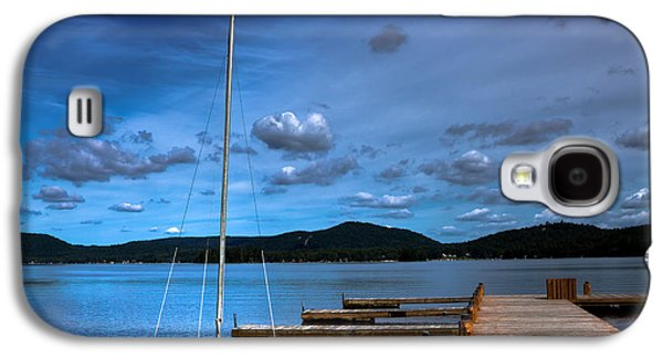 The Dock At The Woods Inn Galaxy S4 Case by David Patterson