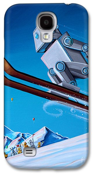 The Downhill Race Galaxy S4 Case by Cindy Thornton