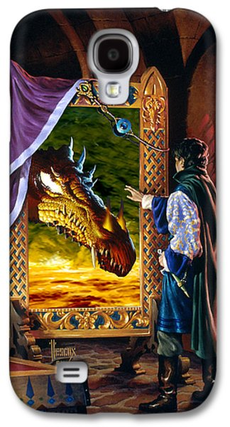 The Dragon Mirror Galaxy S4 Case by Richard Hescox