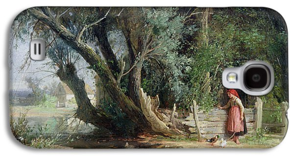 The Duck Pond Galaxy S4 Case by Eduard Heinel