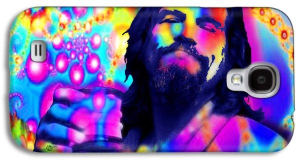 The Dude The Big Lebowski Jeff Bridges Galaxy S4 Case by Tony Rubino