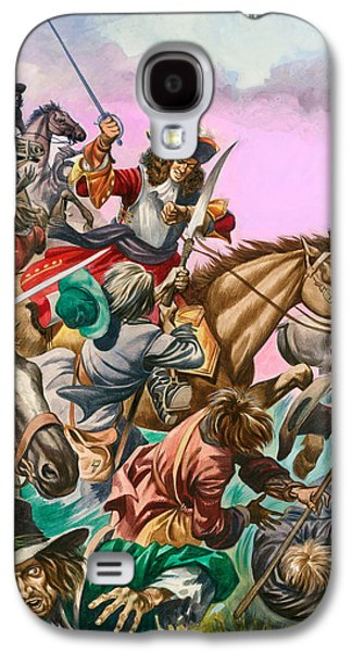 The Duke Of Monmouth At The Battle Of Sedgemoor Galaxy S4 Case by Peter Jackson