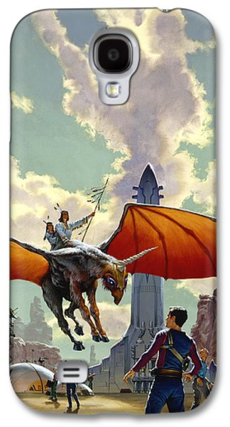 The Earth Is All That Lasts Galaxy S4 Case by Richard Hescox