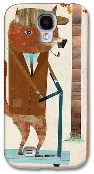 The Eccentric Mr Fox Galaxy S4 Case by Bri B