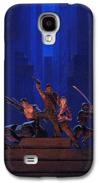 Knight Galaxy S4 Case - The Eliminators by Richard Hescox