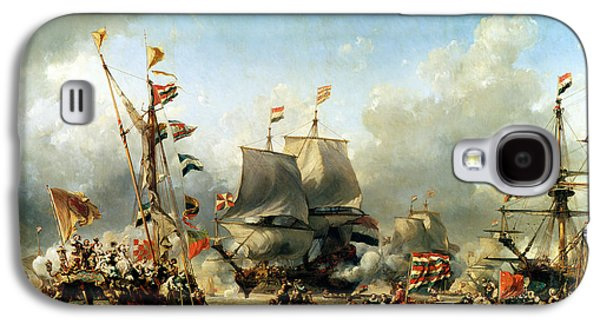 The Embarkation Of Ruyter And William De Witt In 1667 Galaxy S4 Case