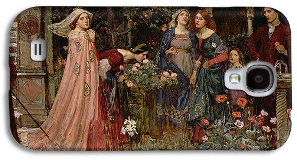The Enchanted Garden Galaxy S4 Case by John William Waterhouse