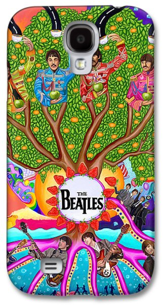 The Enchanting Branching Beatles Galaxy S4 Case by Deborah Camp