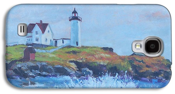 The End Of Summer- Cape Neddick Maine Galaxy S4 Case by Alicia Drakiotes