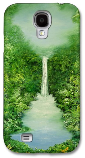 The Everlasting Rain Forest Galaxy S4 Case by Hannibal Mane