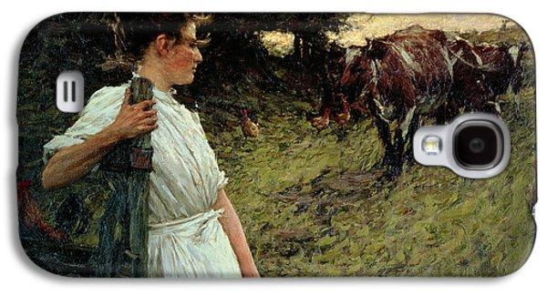 The Farmer's Daughter Galaxy S4 Case