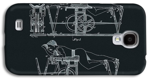 The First Exercise Machine Illustration Galaxy S4 Case