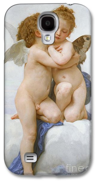 The First Kiss  Galaxy S4 Case by William Adolphe Bouguereau