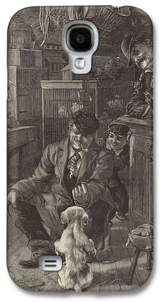 The First Lesson Galaxy S4 Case by Louis Fairfax Muckley